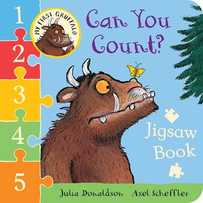 Book cover for My First Gruffalo: Can You Count...